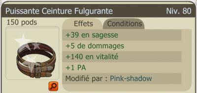 Par Squall : Over vita sur une puissante ceinture fulgurente.