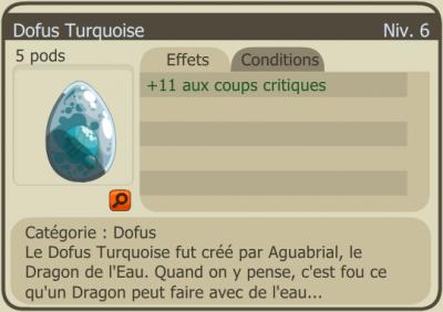 Par Squall : Le dofus turquoise.
