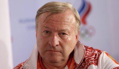 Alexander Alexandrov Le coach d'Aliya Mustafina renvoyé de son poste d'entraîneur national.