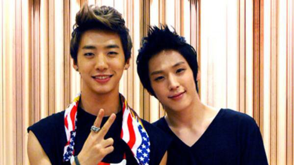 Hicham et Bang Guk