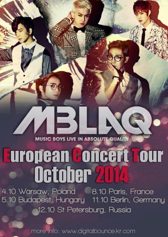 Qui va y aller au concert des MBLAQ  ?