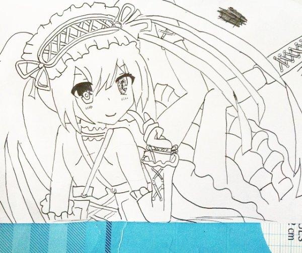 Nouveau dessin Kurumi