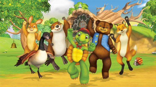 OUI c'est Franklin la tortue et ses amis .!