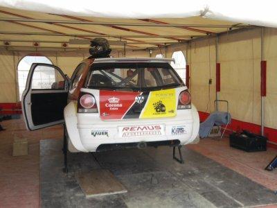 Championnat d'Europe de rallycross 2011 à Essay.