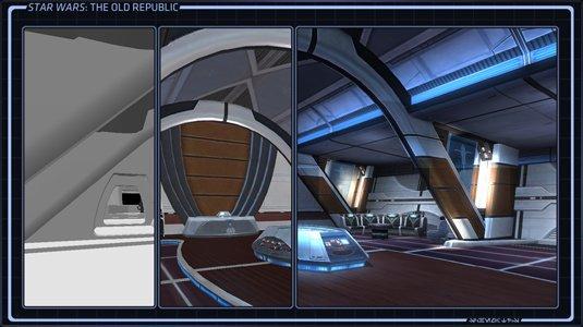 Conception des vaisseaux de Star Wars the old Republic. (Part 3)