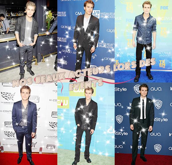 • TheVampiireDiariees  »      Nina, Candice, Ian & Paul sur tapis-rouge