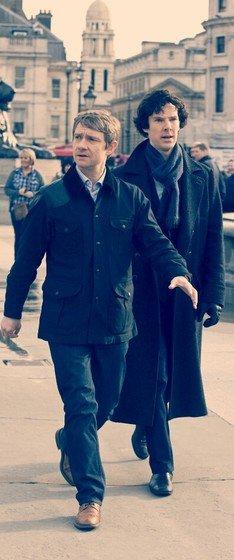 Sherlock, La série