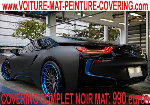 articles de peinture noir mat tagg s film carrosserie mat covering peinture noir mat sur. Black Bedroom Furniture Sets. Home Design Ideas