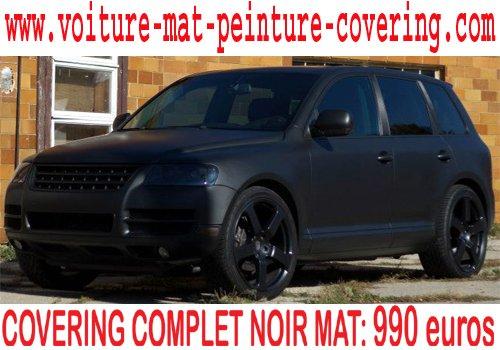 articles de peinture noir mat tagg s full covering voiture covering peinture noir mat sur. Black Bedroom Furniture Sets. Home Design Ideas