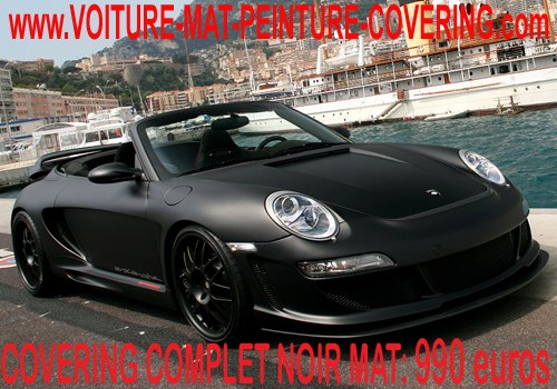 articles de peinture noir mat tagg s porsche 911 2020 covering peinture noir mat sur. Black Bedroom Furniture Sets. Home Design Ideas