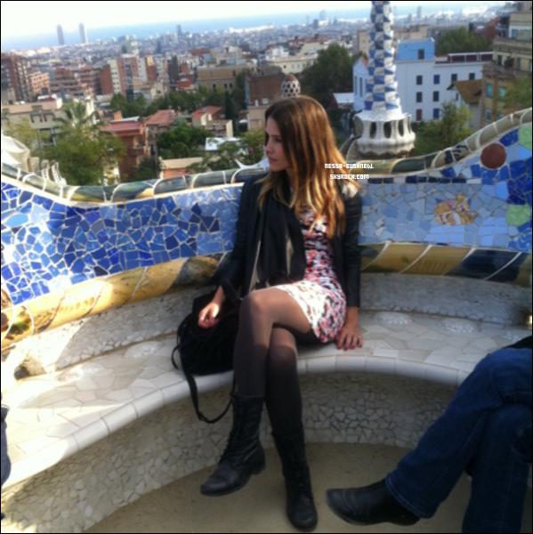 _ « L'Espagne m'enchante ! Le Park Guell était magnifique aujourd'hui ! » Sophia.