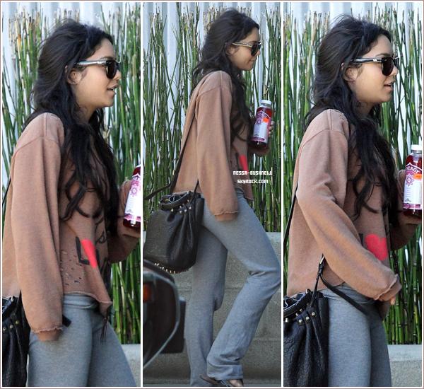 _ Vanessa qui se rend à un rendez-vous d'affaires à Studio City le 14 novembre.