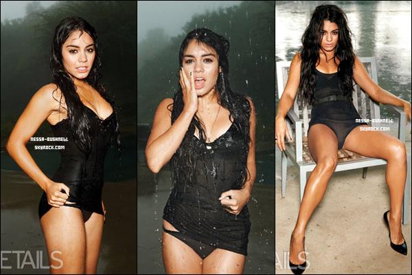 """_  ♥ Photoshoot très sexy de Vanessa pour l'édition du mois de mars du célèbre magazine Details.""""La star sexy de Sucker Punch comme vous ne l'avez jamais vue"""" - Details. Photographe : Eric Ray Davidson. _"""