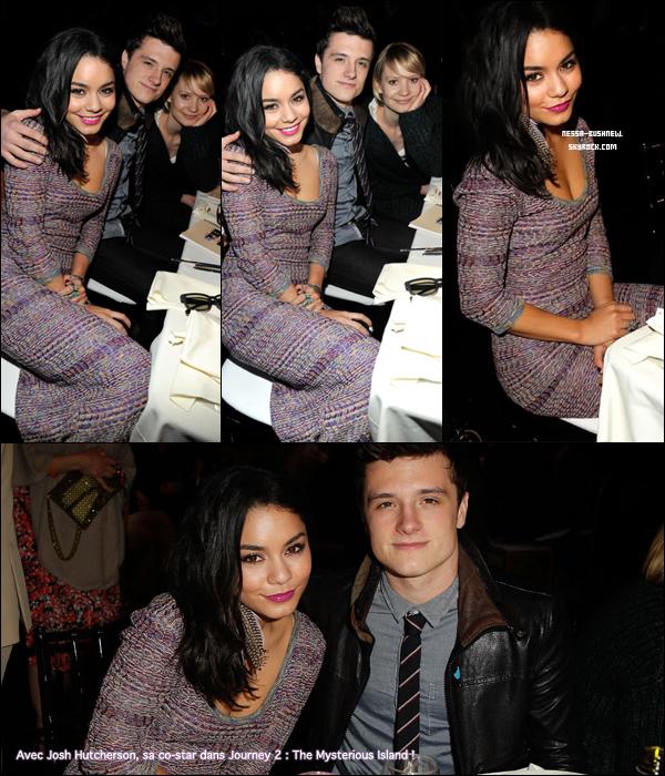 _ Vanessa qui assiste à la cérémonie des Film Independant Spirit Awards à Santa Monica le 26 février. ♥