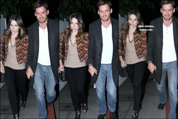 _ Sophia et Austin Nichols au deuxième anniversaire de DeLeon Tequila à Hollywood le 15 mai.
