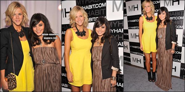 _ Vanessa à une réception pour le lancement du site MyHabit.com à New York City le 18 mai. ♥