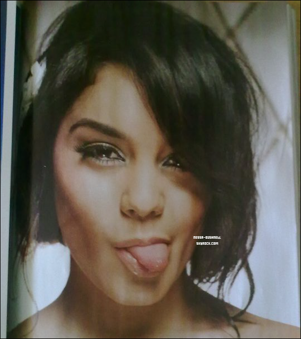 _ Nouvelle photo de Vanessa issue d'un photoshoot inconnu apparue il y a peu dans un magazine.
