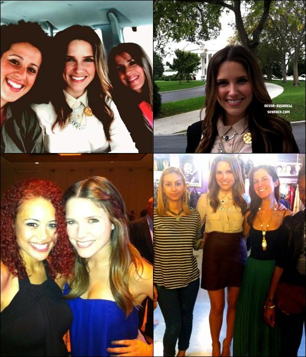 _ Diverses photos de Sophia datant de ce mois-ci, avec plusieurs fans postées sur twitter. _