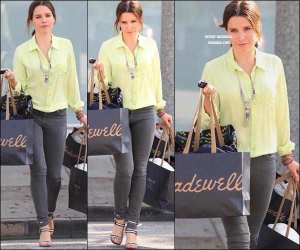 _ 19.01 : Sophia quittant une salle de sport et sortant ensuite de la boutique Madewell à West Hollywood. _
