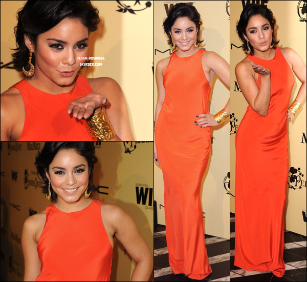 "_ 24.02 : Vanessa au ""Women In Film Pre-Oscar Cocktail Party"" à Los Angeles. ♥ _"