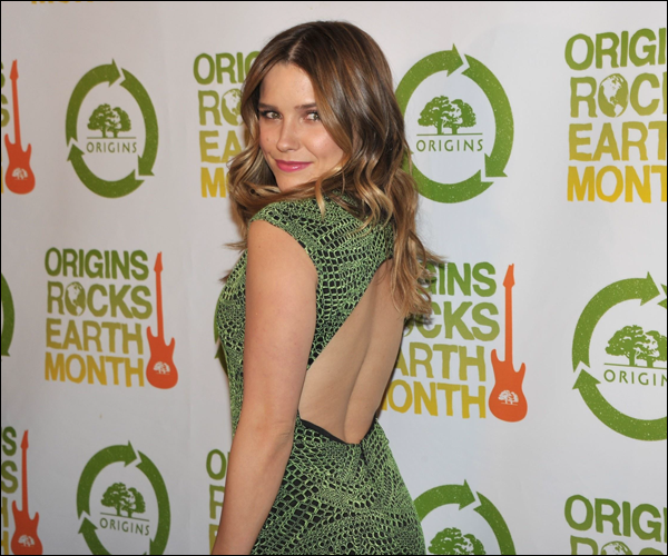 "_ Sophia au "" 3rd Annual origins rocks Earth month Concert"" à New York le 18 avril. ♥ _"