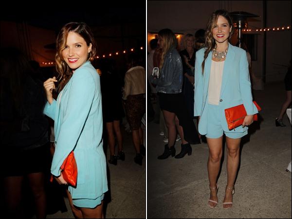 """_ Sophia à l'inauguration de la boutique """"Flagship"""" de Claire Vivier à Los Angeles le 18 juin. _"""