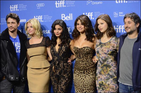 _ Session de portrait au Festival du film de Toronto au Canada dans la journée du 7 septembre. _