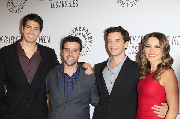 "_ Sophia au PaleyFest Fall TV Preview avec le cast de sa nouvelle série ""Partners"" le 6 septembre. _"