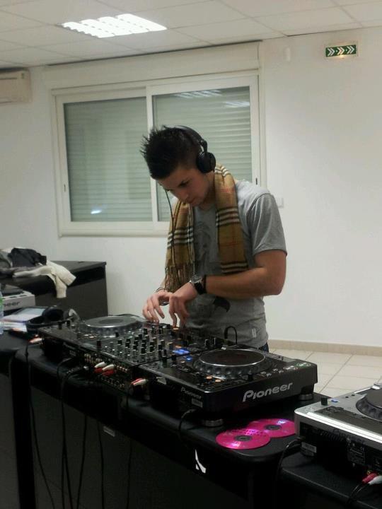 En mode DJ !!! ;-)