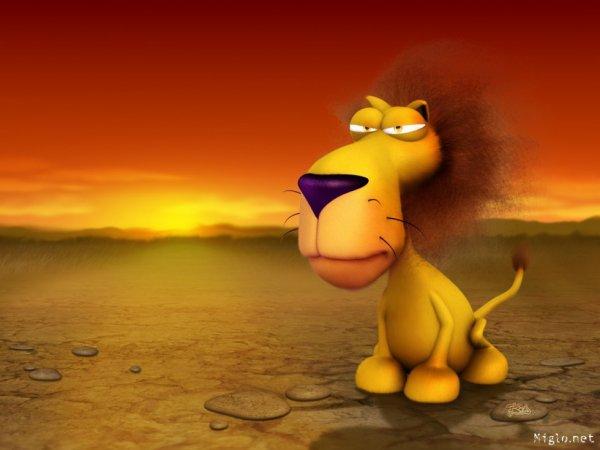trop beau le lion