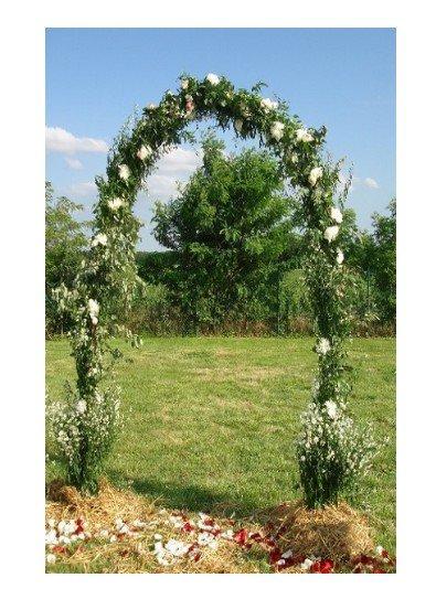 recherche une arche de mariage pour moi la fleurire et un peux plus grande que sa car po evident a trouver  sur arras il connaisse que les arches a ballon