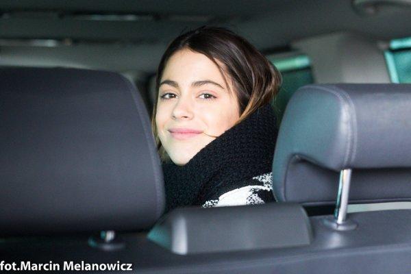 News de Tini du 08/04/15 : Nouvelle photo de Tini en Pologne