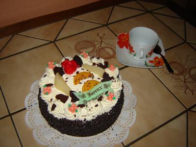 Creme gateau anniversaire