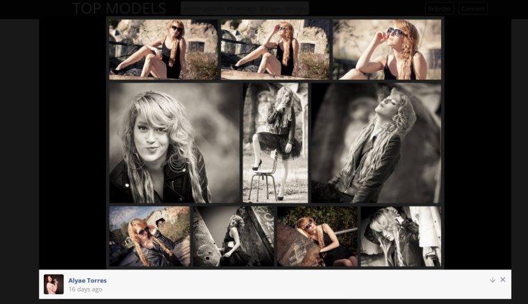 Alyae Torres Modèle photo Top-models.xyz