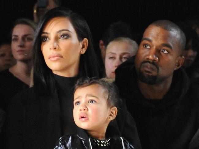 Kim Kardashian et Kanye West, photographiés à leur insu