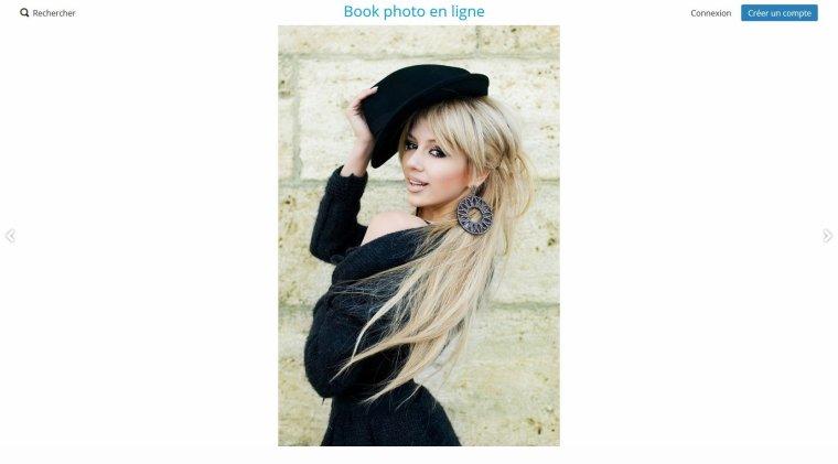 création de BOOK PHOTO EN LIGNE - votre Book photo en ligne en quelques clics !