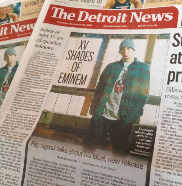 "#  EMINEM    ♥ ♥♥  dans le clip ""Detroit vs Everybody""  #"
