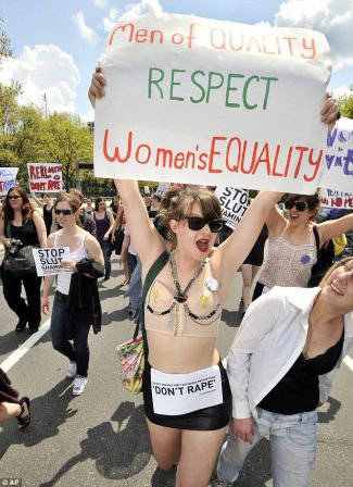 La marche des salopes (Slutwalk)