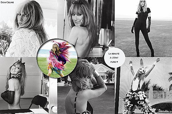 .  2012 : Photoshoot pour le V Magazine par Sebastian  La plus merveilleuse des femmes![/font=Arial]    .