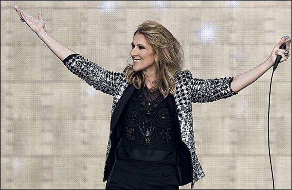 Le 15 Juillet 2017, je revoyais Céline en show au Stade de Suisse à Berne.