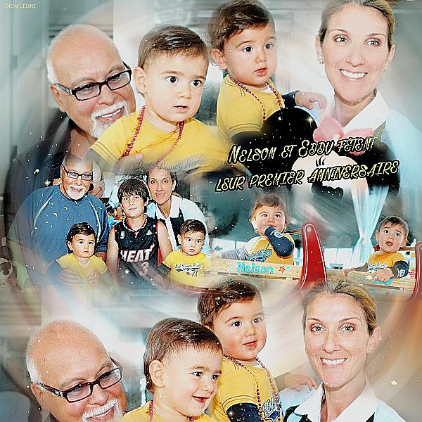 .  23/10/2011 : Nelson et Eddy fêtent leur 1 an