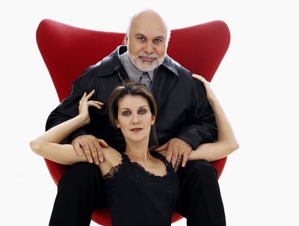 Le 1er mai 1999, Céline et René font un photoshoot ♥