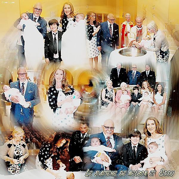 .  05/03/2011 : Céline baptisait ses jumeaux Nelson et Eddy. ♥