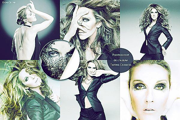 """.  En novembre 2007 : Céline faisait un photoshoot pour l'album """"Taking Chances"""""""