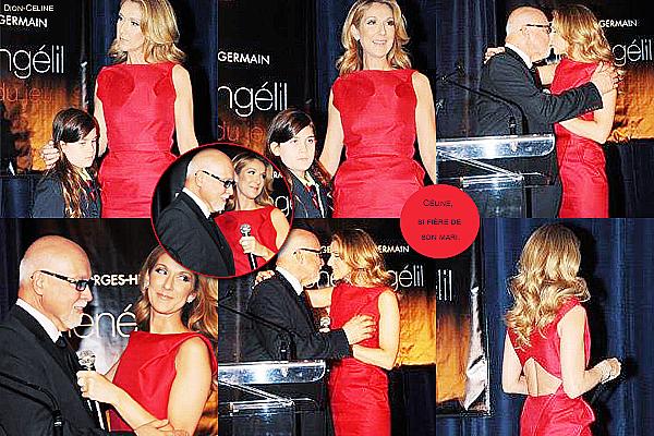 .  02/03/2009 : Céline Dion participe au lancement de la biographie de René Angélil à Montréal