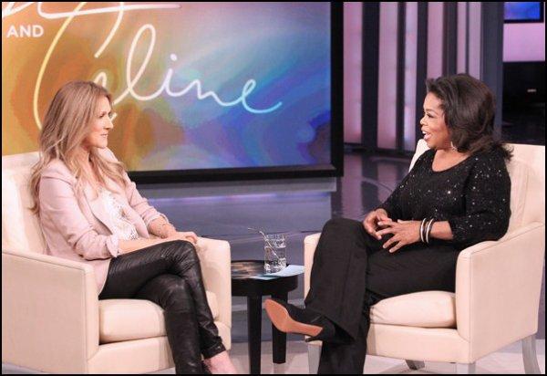 .  16/02/2011 : Céline enregistrait l'émission d'Oprah  L'émission est diffusée le 21 février 2011 à la télévision.[/font=Arial]    .