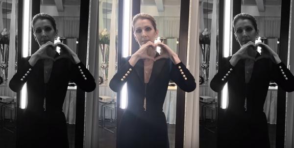 .  08/11/2017 : Céline soutenait comme à son habitude la cause contre l'homophobie dans un clip.♥