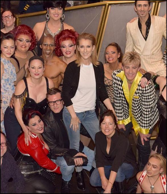 .  28/11/2017 : Céline et Pepe sont allés voir le spectacle du Cirque du soleil à Las Vegas.