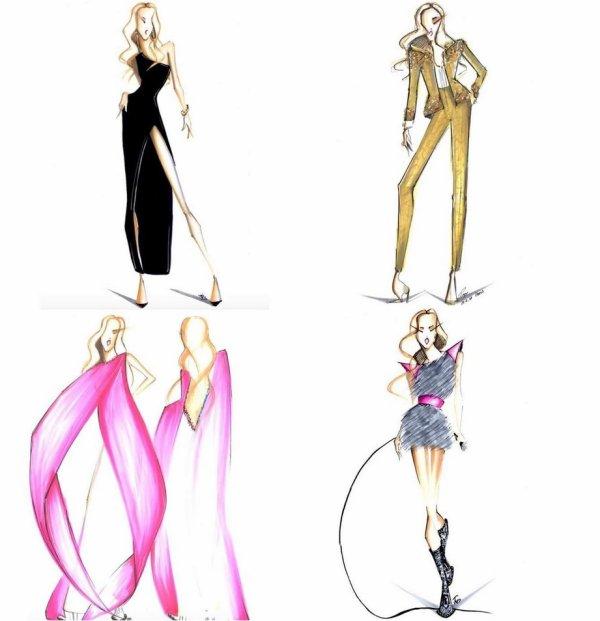 .  01/07/2018 :Céline dessinée par Pepe Munoz, son talentueux danseur. Je trouve ces dessins magnifiques, classes et tellement élégants comme Céline. ♥  .