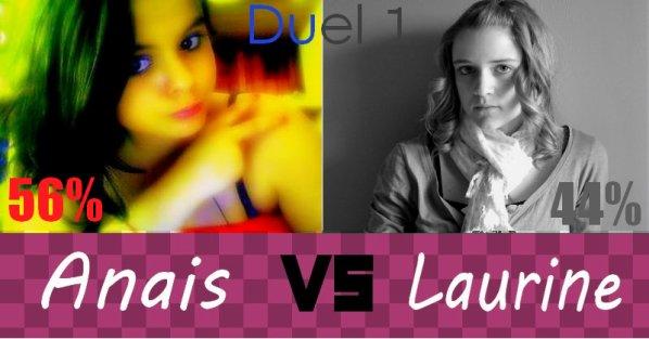 Duel 1 : Anais VS Laurine